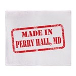 MADE IN PERRY HALL, MD Throw Blanket