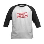 MADE IN PERRY HALL, MD Kids Baseball Jersey
