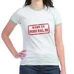 MADE IN PERRY HALL, MD Jr. Ringer T-Shirt