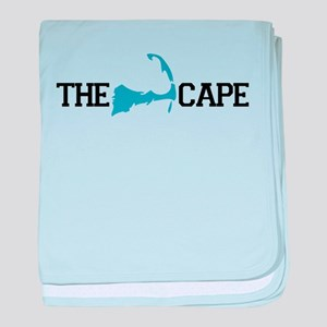 The Cape MA - Map Design baby blanket