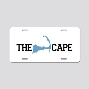 The Cape MA - Map Design Aluminum License Plate