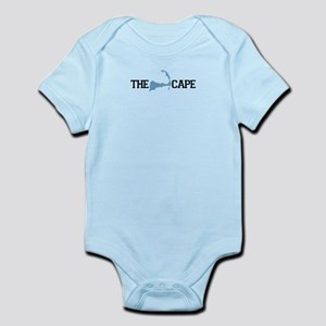 Massachusetts souvenirs gifts cafepress the cape ma map design infant bodysuit negle Image collections