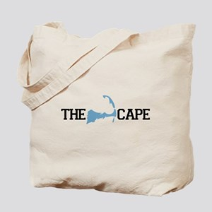 The Cape MA - Map Design Tote Bag
