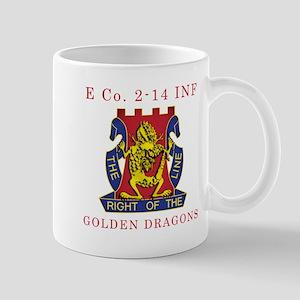 E Co 2-14 INF - Golden Dragon Mug