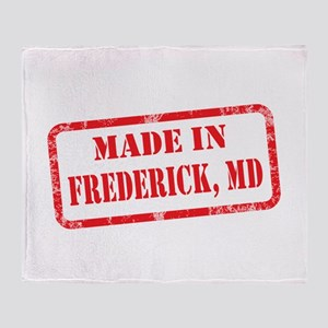 MADE IN FREDERICK, MD Throw Blanket