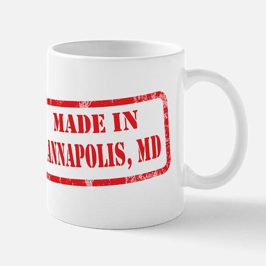 MADE IN ANNAPOLIS, MD Mug