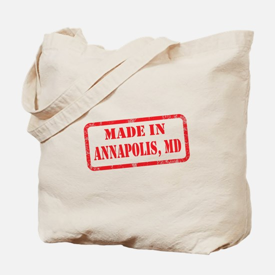 MADE IN ANNAPOLIS, MD Tote Bag