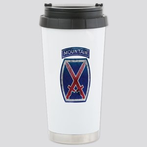 10th Mountain Division - Clim Stainless Steel Trav