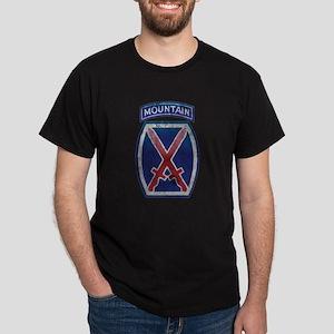 10th Mountain Division - Clim Dark T-Shirt