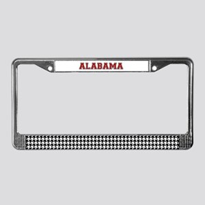 Houndstooth Heaven License Plate Frame