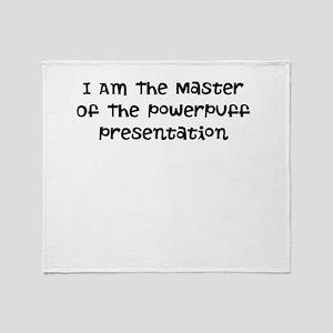 Powerpuff Presentation Master Throw Blanket