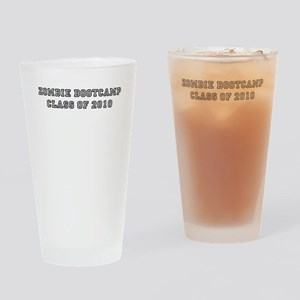 Zombie BootCamp: Class of 201 Drinking Glass