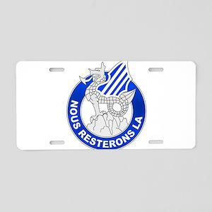 3rd Infantry Division - NOUS Aluminum License Plat