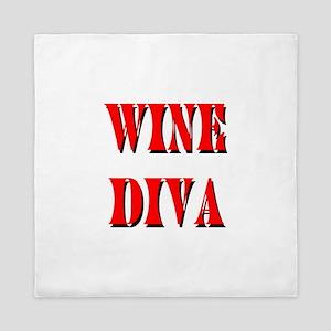 Wine Diva Queen Duvet