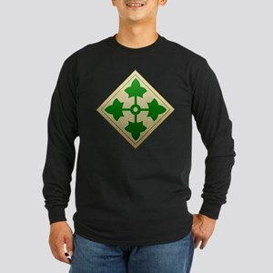 4th Infantry Division - Stead Long Sleeve Dark T-S
