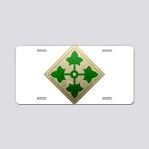 4th Infantry Division - Stead Aluminum License Pla