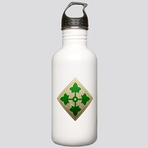 4th Infantry Division - Stead Stainless Water Bott