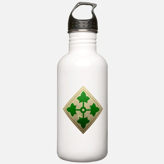 4th Infantry Division - Stead Water Bottle