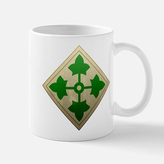 4th Infantry Division - Stead Mug
