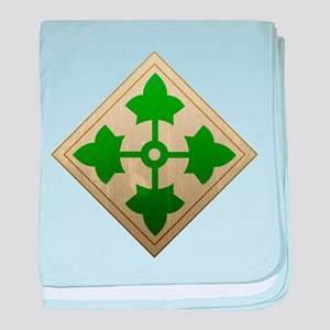 4th Infantry Division - Stead baby blanket