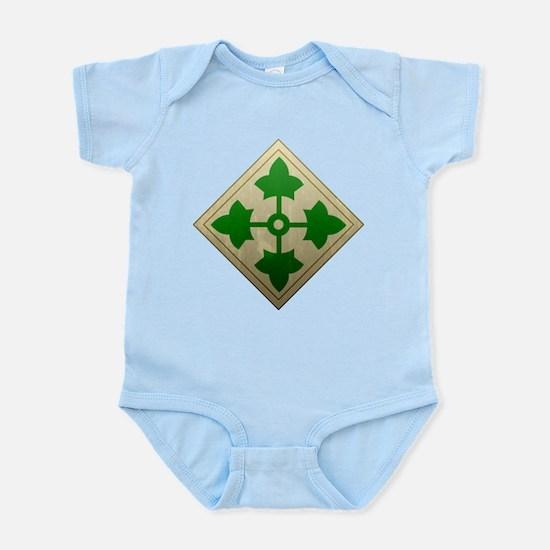 4th Infantry Division - Stead Infant Bodysuit