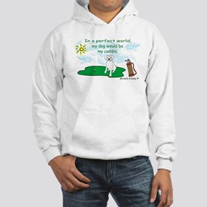 more dog breeds w/this design Hooded Sweatshirt