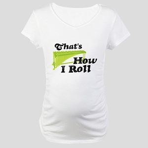 Pit Percussion Marimba Maternity T-Shirt