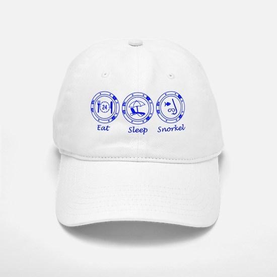 Eat Sleep Snorkel Baseball Baseball Cap