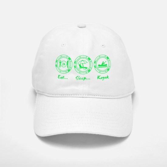 Eat Sleep Kayak (G) Baseball Baseball Cap