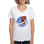 1 ERHG Women's V-Neck T-Shirt