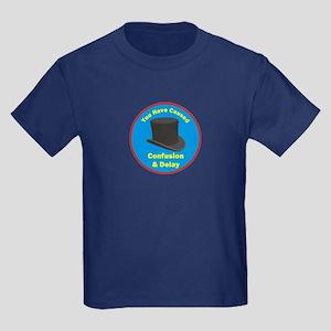 Confusion & Delay Kids Dark T-Shirt