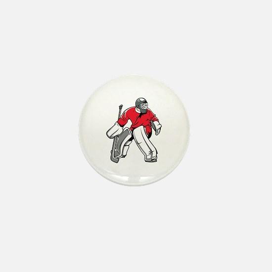 Unique Goaltender Mini Button