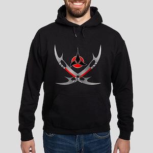 Klingon Emblem Hoodie (dark)
