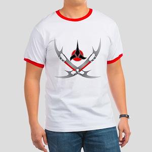 Klingon Emblem Ringer T