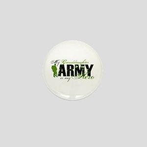 Granddaughter Hero3 - ARMY Mini Button