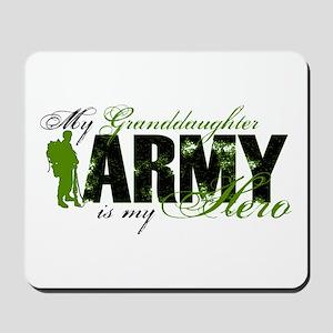 Granddaughter Hero3 - ARMY Mousepad