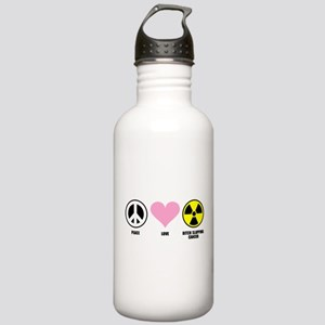 Bitch Slapping Cancer Stainless Water Bottle 1.0L