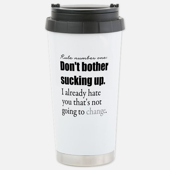 Grey's Anatomy Stainless Steel Travel Mug