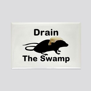 Drain The Swamp Rectangle Magnet Magnets