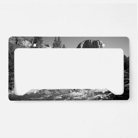 Unique Yosemite national park License Plate Holder