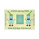Erlen & Erlene General Chemistry CH223 Magnet