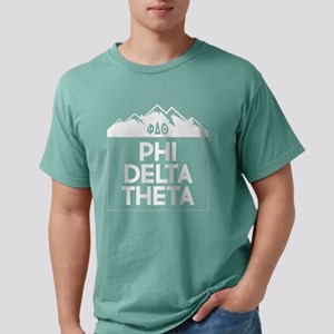 Phi Delta Theta Mounta Mens Comfort Color T-Shirts