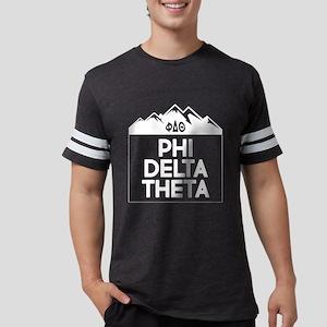 Phi Delta Theta Mountains Mens Football T-Shirts