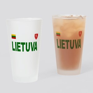 Lietuva Olympic Style Drinking Glass