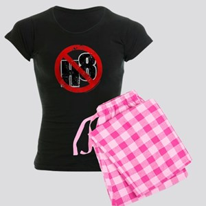 No Hate - < NO H8 > Women's Dark Pajamas