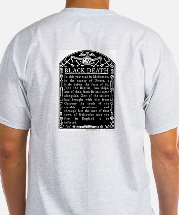Black Death Ash Grey T-Shirt
