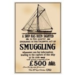 A 18th Century Smuggling Large Poster