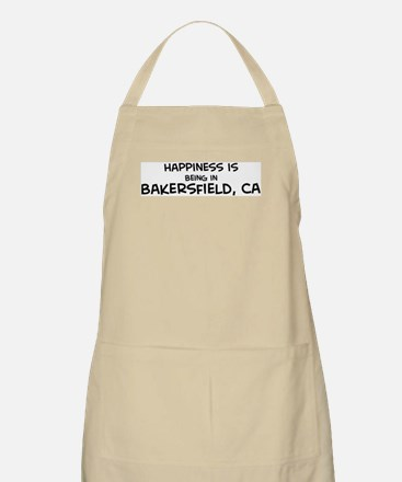 Happiness is Bakersfield BBQ Apron