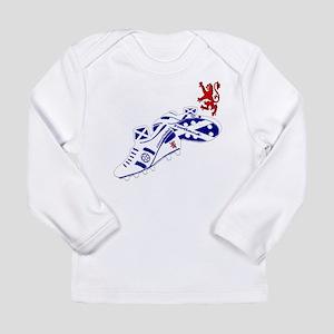 Scottish white football boots Long Sleeve Infant T