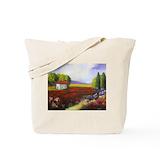 Tuscany Canvas Tote Bag